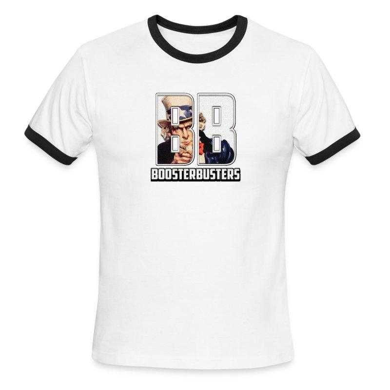 I'm a Booster Buster V2 - Men's Ringer T-Shirt