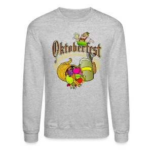 Oktoberfest Crew Neck Sweatshirt For Men - Crewneck Sweatshirt