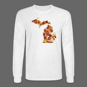 Pizza Michigan - Men's Long Sleeve T-Shirt