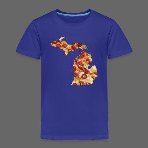 Pizza Michigan - Toddler Premium T-Shirt