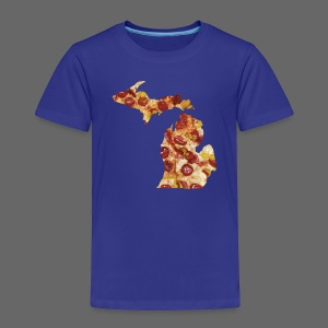 Pizza Michigan - Toddler Premium T-Shirt