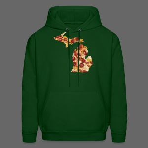 Pizza Michigan - Men's Hoodie