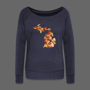 Pizza Michigan - Women's Wideneck Sweatshirt