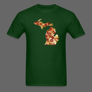 Pizza Michigan - Men's T-Shirt