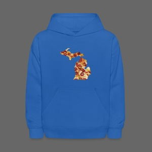 Pizza Michigan - Kids' Hoodie