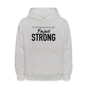 Strong Kids' Hooded Sweatshirt - Kids' Hoodie