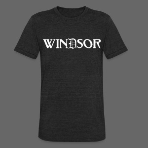 Windsor - Unisex Tri-Blend T-Shirt by American Apparel