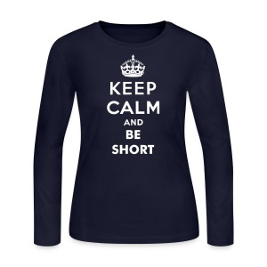KCBS - Long Sleeve (white) - Women's Long Sleeve Jersey T-Shirt
