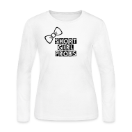 Long Sleeve Shirts ~ Women's Long Sleeve Jersey T-Shirt ~ SGP Bow - Long Sleeve (black)