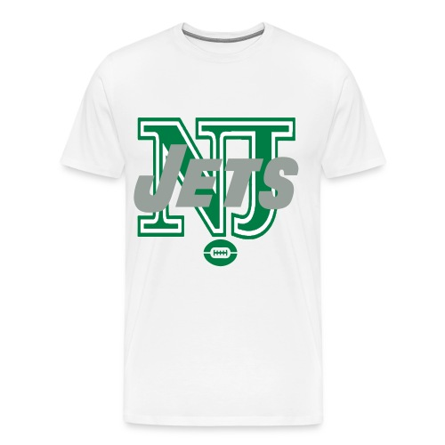 DELUXE NJ JETS T-SHIRT - Men's Premium T-Shirt