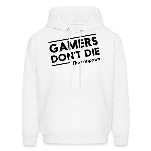 Gamers don't die - Men's Hoodie
