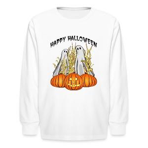 Happy Halloween Long Sleeve T-Shirt For Kids - Kids' Long Sleeve T-Shirt