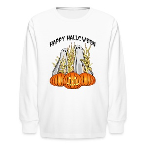 Happy Halloween Long Sleeve T-Shirt For Kids - Kids' Long Sleeve T-Shirt