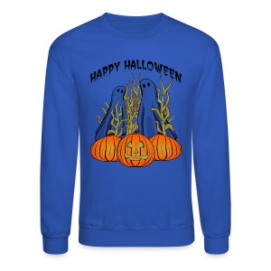 Happy Halloween Crewneck Sweatshirt For Men - Crewneck Sweatshirt