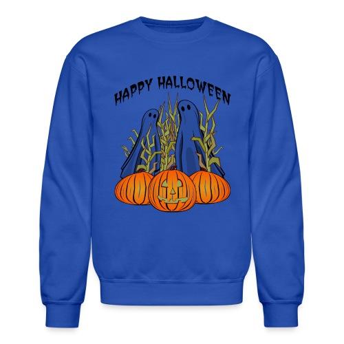 Happy Halloween Crewneck Sweatshirt For Men - Crewneck Sweatshirt