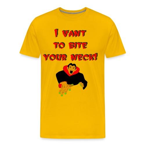 Vampire Premium T-Shirt For Men - Men's Premium T-Shirt