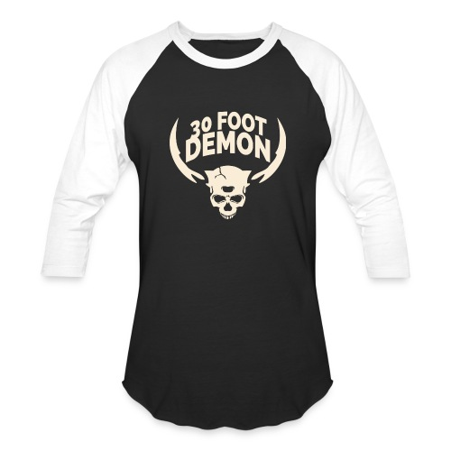 30 FOOT DEMON LONGSLEEVE - Baseball T-Shirt