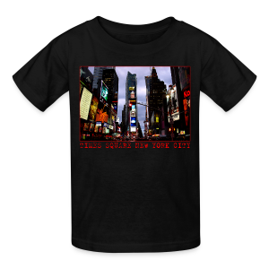 Kid's New York Souvenir T-shirt NYC Times Square Shirt - Kids' T-Shirt