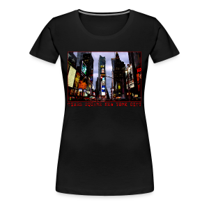 Women's New York Souvenir T-shirt NYC Times Square Shirt - Women's Premium T-Shirt