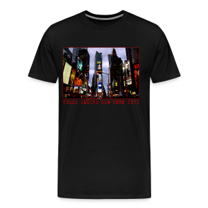 Men's New York Souvenir T-shirts NYC Times Square Shirts - Men's Premium T-Shirt