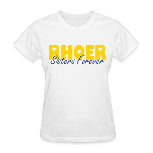 Sisters Forever Tee in white - Women's T-Shirt