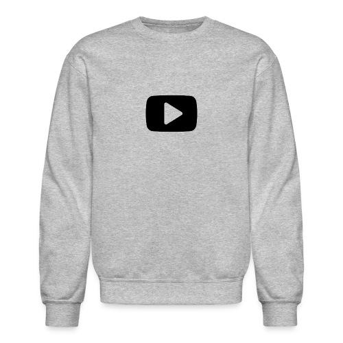 Youtube Play Button - Crewneck Sweatshirt