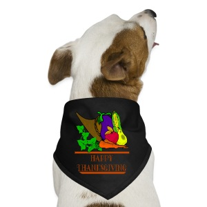 Happy Thanksgiving Dog Bandana - Dog Bandana