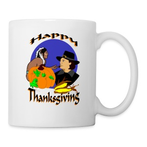 Thanksgiving Day Ceramic Hot Chocolate Mug - Coffee/Tea Mug