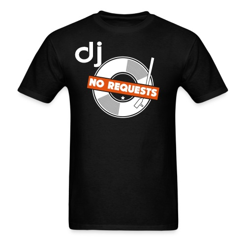Official DJ No Request T-shirt - Men's T-Shirt