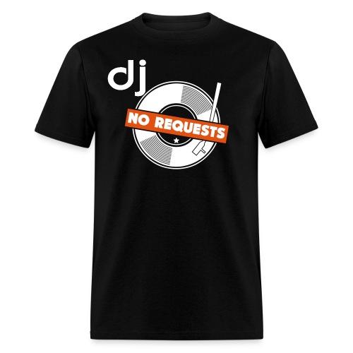 Official DJ No Request T-shirt - Men's T-Shirt