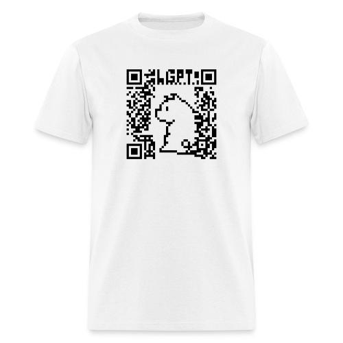 LGPT-QR - Men's T-Shirt