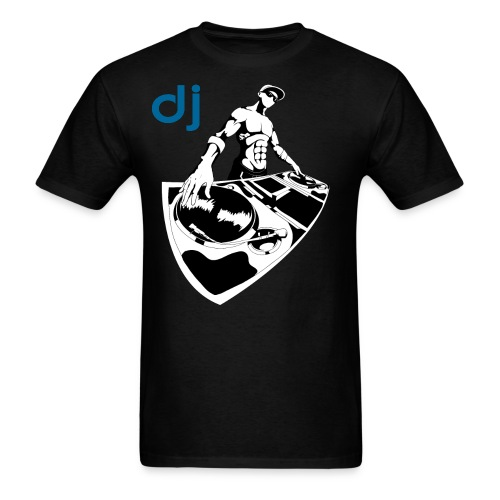 Official DJ Turntables with mixer DJ T-shirt - Men's T-Shirt
