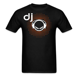 Official DJ Red BG Alien with Headphones T-shirt - Men's T-Shirt