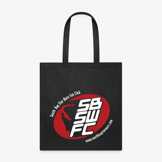 Black SBSWFC Canvas Tote