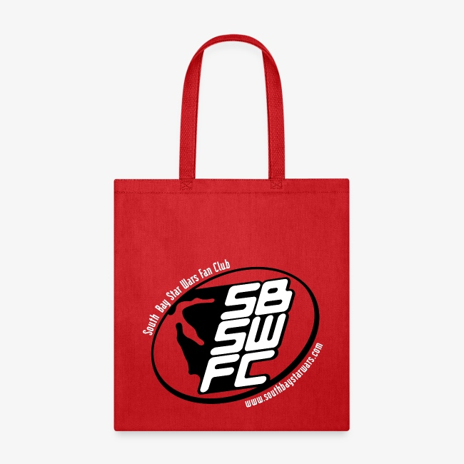 Red SBSWFC Canvas Tote