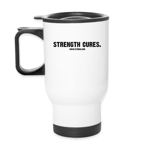 STRENGTH CURES. Java - Travel Mug
