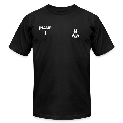 ODST Trainee T-SHIRT - YOURNAME WITH 19TH BN LOGO ON FRONT - Men's Fine Jersey T-Shirt