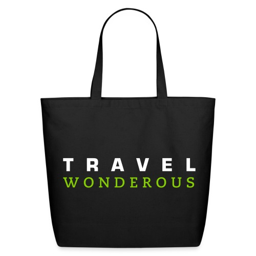 Travelwonderous Tote - simple - Eco-Friendly Cotton Tote