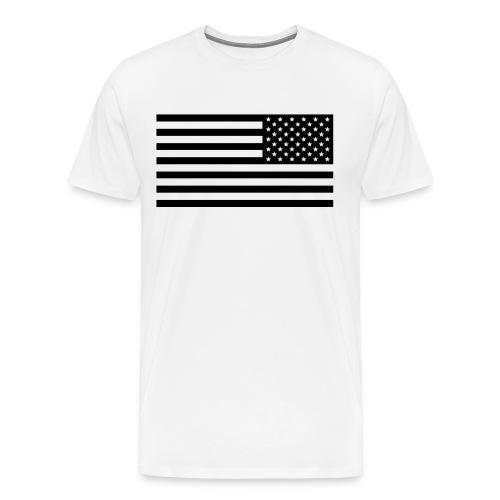 Us flag - Men's Premium T-Shirt
