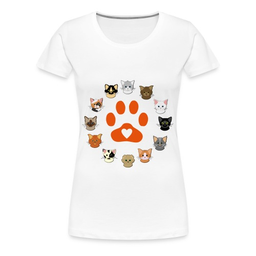 Love All Breeds - Women's Premium T-Shirt