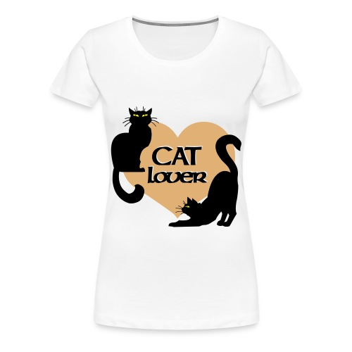 Cat Lover Women's T-Shirt - Women's Premium T-Shirt