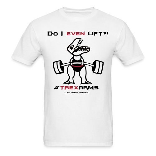 Men's T-Shirt - Apparel designed for Gym rats like me whose genetics are the biggest enemy!