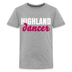 Highland Dancer Kids' Shirt - Kids' Premium T-Shirt