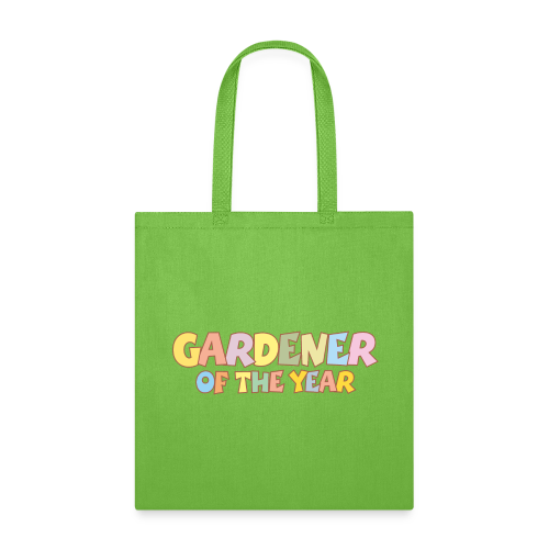 Gardener of the Year Organic T-Shirt (White/Women) - Tote Bag