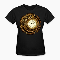 Another Steampunk Clock Women's T-Shirts