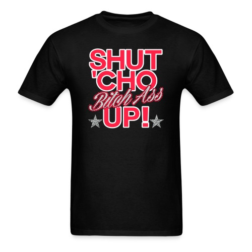 SHUTCHO BLACK - Men's T-Shirt