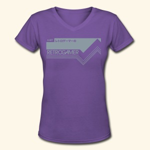 GamerCartridge - Women's V-Neck T-Shirt