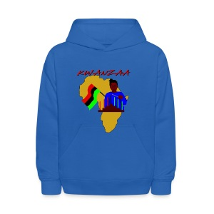 Kwanzaa Observance Hooded Sweatshirt For Kids - Kids' Hoodie
