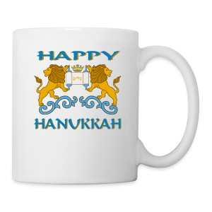 Hanukkah Celebration Coffee And Tea Mug - Coffee/Tea Mug