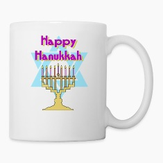 Happy Hanukkah Bottles & Mugs